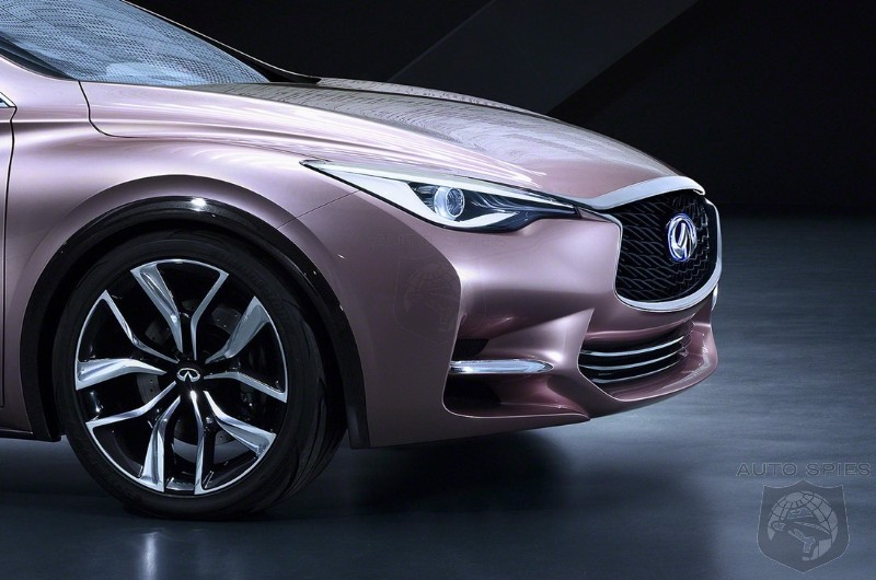 FRANKFURT MOTOR SHOW: Infiniti's All-New Q30 Concept REVEALED To The World In THESE Detailed Shots